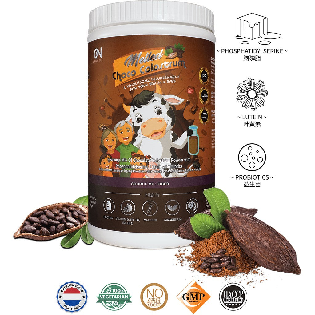 MELTED CHOCO COLOSTRUM {500G/BTL}