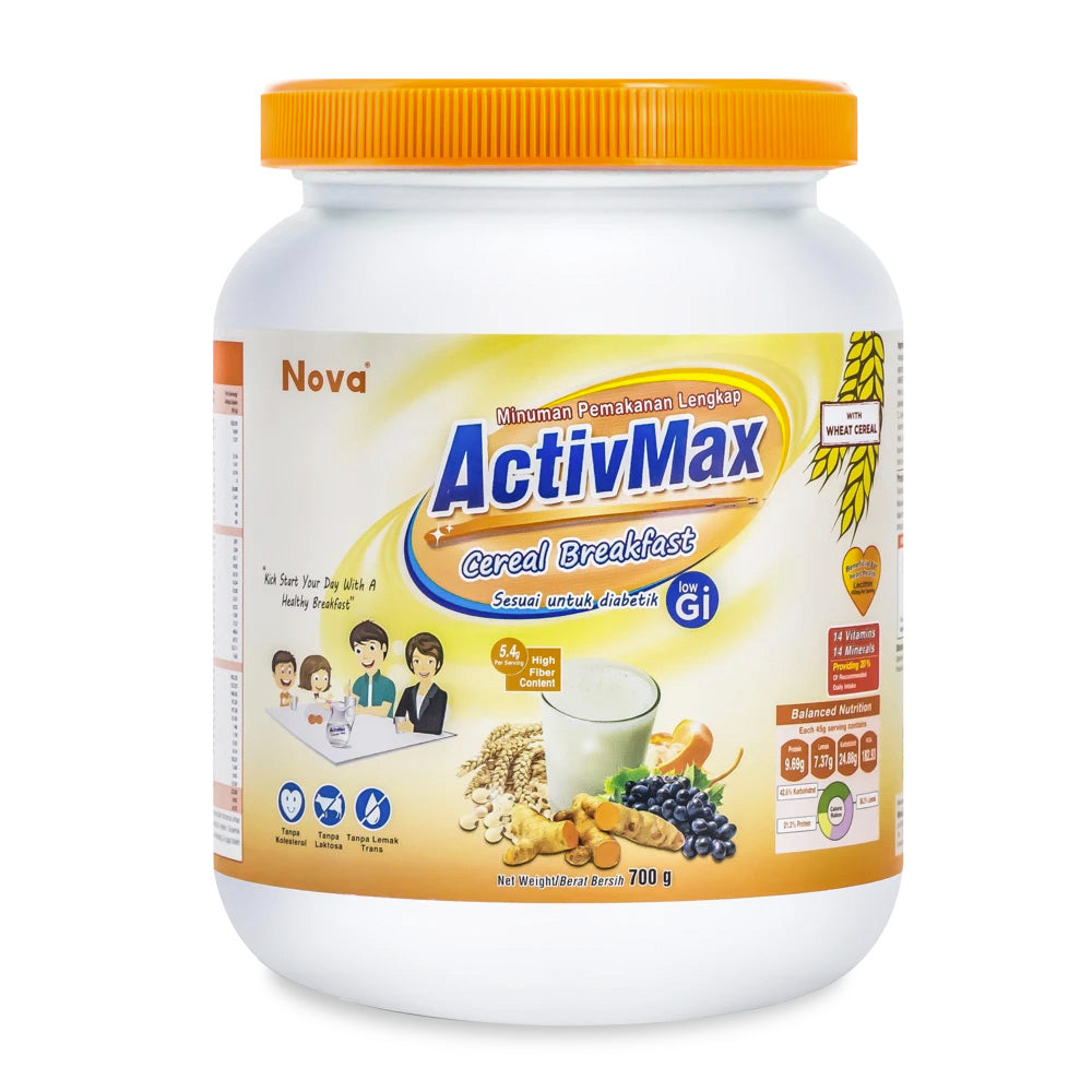 ACTIVMAX CEREAL BREAKFAST {700G/TUB}