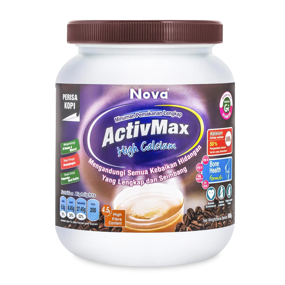ACTIVMAX HI CALCIUM (COFFEE) {900G/TUB}