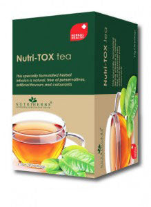 NUTRIHERBS NUTRI-TOX TEA {2.5GM*6 BAG}