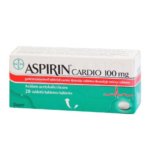 ASPIRIN CARDIO 100MG {10 TAB/STRIP}