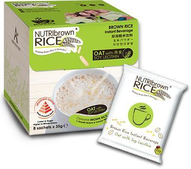 NUTRIBROWN RICE OAT W LECITHIN {8'S/BOX}