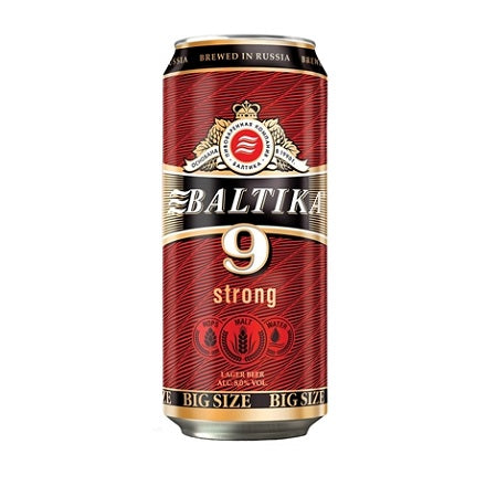 Baltika 9 Lager 8% 900mL Can