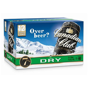 Canadian Club 7% 12pk Cans