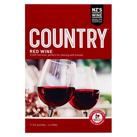 Country Red Wine 3L