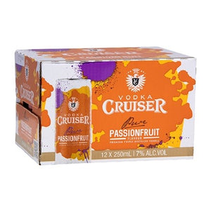 Vodka Cruiser Passionfruit 12pk cans