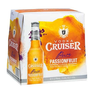Vodka Cruiser Passionfruit12pk btls