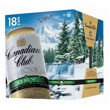canadian club 18pk cans
