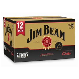 Jim Beam Gold 7% 12pk cans