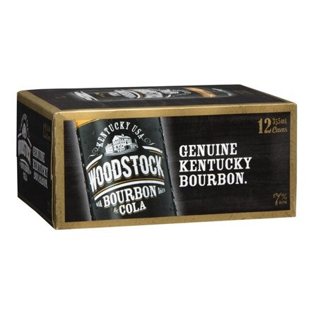 Woodstock 7% 12pk cans