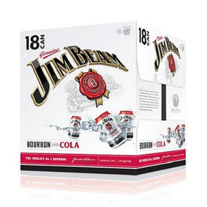 JIm beam 18pk cans