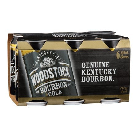 Woodstock 7% 4 x 6pk cans