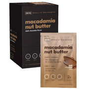 Dark Chocolate Macadamia Butter - Box of 12.