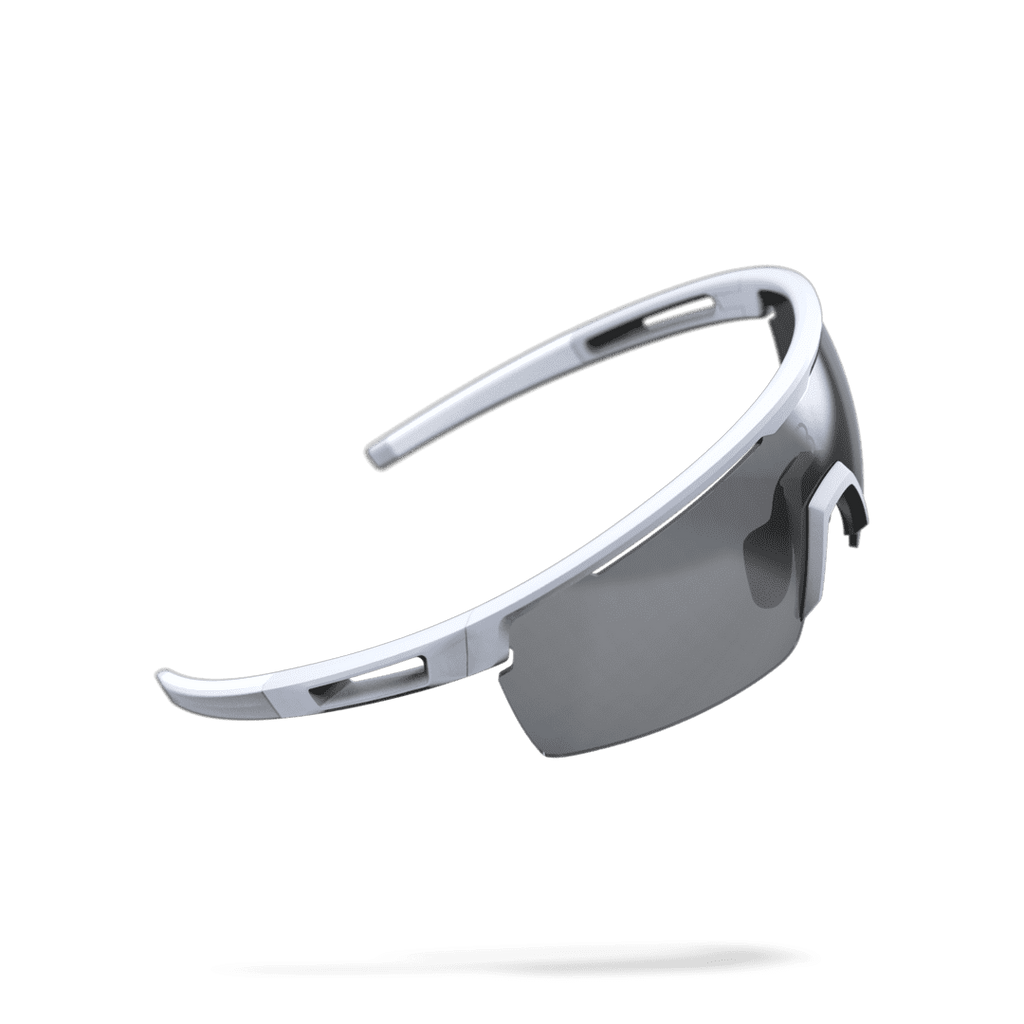 White cycling sunglasses from BBB. BSG-57