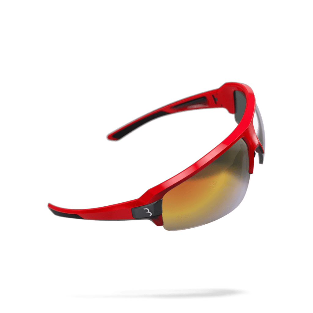 Red and black cycling sunglasses from BBB. BSG-62