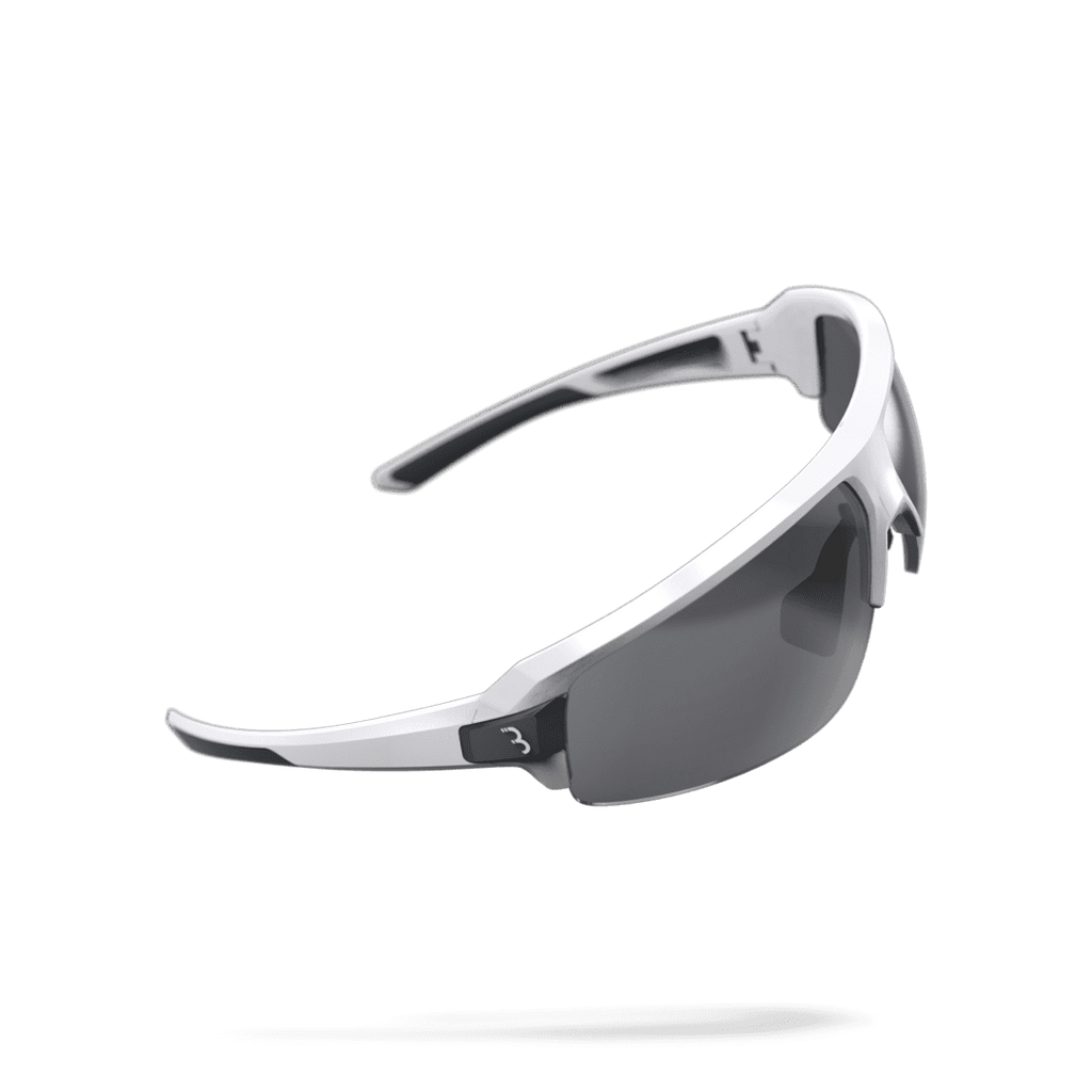 White and black cycling sunglasses from BBB. BSG-62