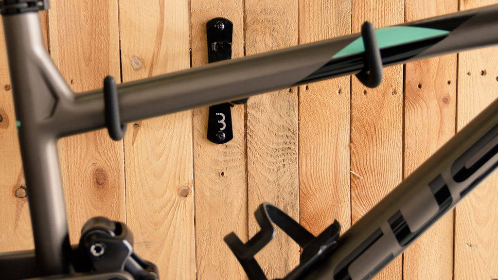 Bicycle wall mount rack from BBB, BTL-93
