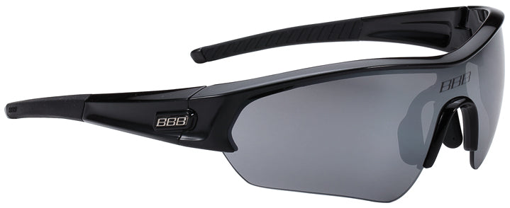 Black cycling sunglasses from BBB. BSG-43