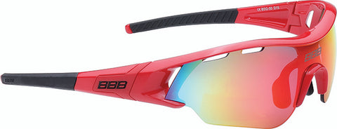 Red cycling sunglasses from BBB. BSB-50