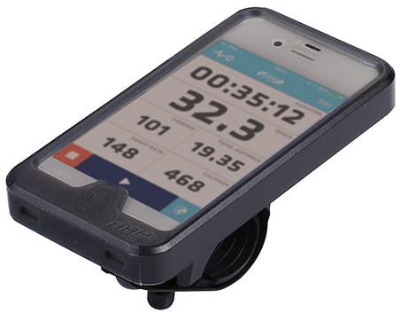 iPhone 4 case and handlebar mount from BBB. BSM-02