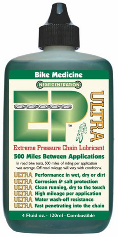 Synthetic bicycle chain lube from Bike Medicine