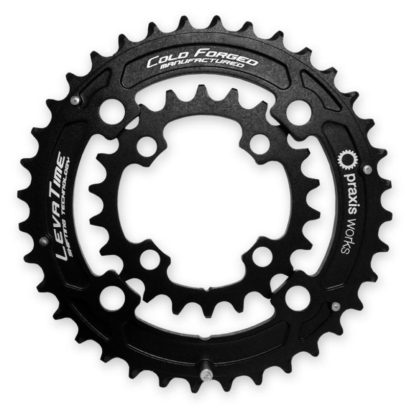 Praxis 2X Mountain Bike Chainrings