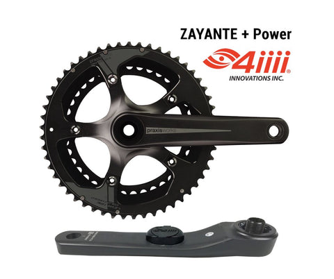 Praxis Zayante Road Crankset - with 4iiii Power Meter