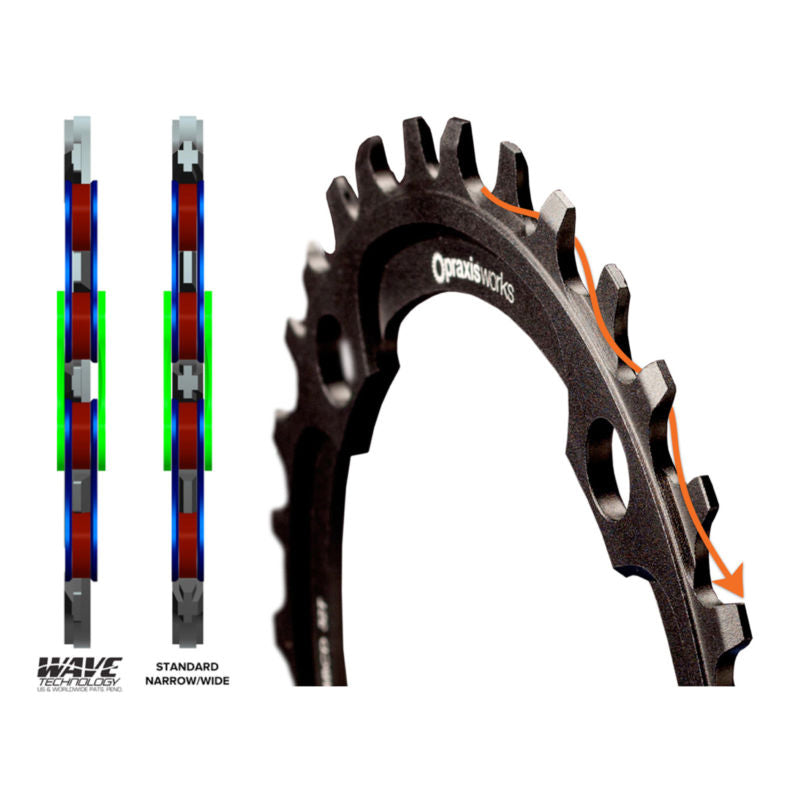Praxis 1X 94 BCD Mountain Bike Chainring