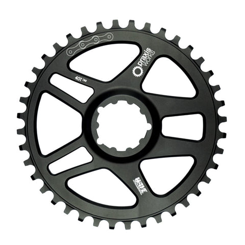 Praxis Cyclocross/Gravel 1x WAVE Direct Mount chainring