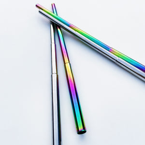 Collapsible Metal Straw