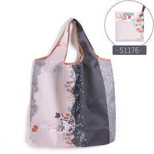 Eco-Friendly Reusable Grocery Foldable Shopping Bag