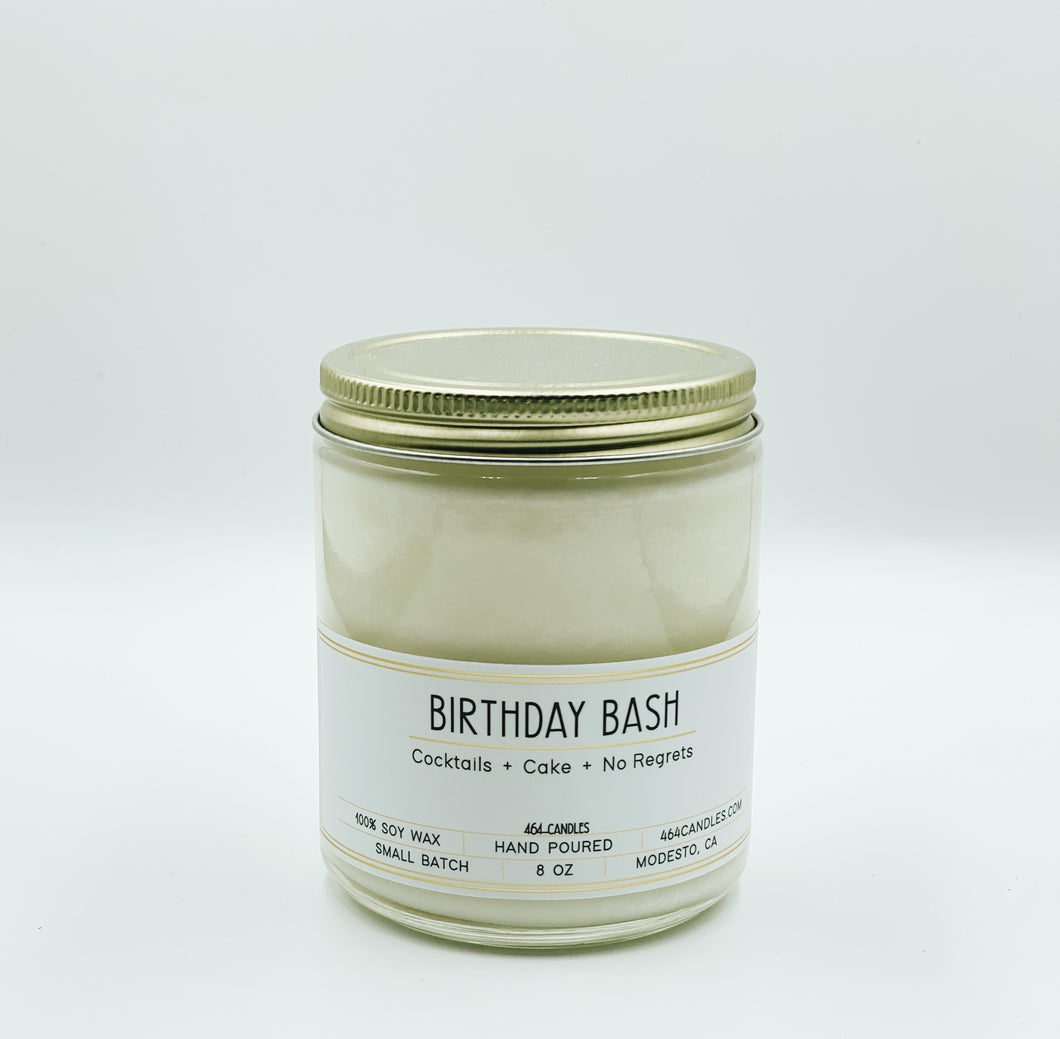 Birthday Bash- 8 oz Stanard