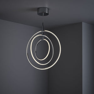 LED | Ceiling Light | Chrome finish | Fern Interiors UK
