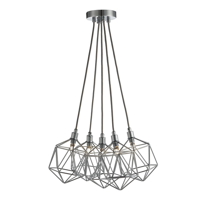 Contemporary geometric designed ceiling pendant light
