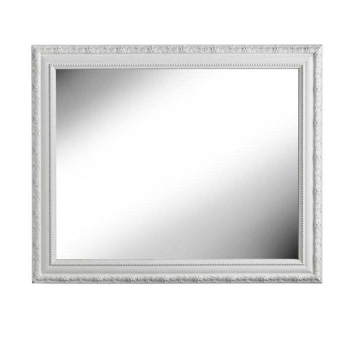 Large, antique style wall mirror 83cm x 68cm