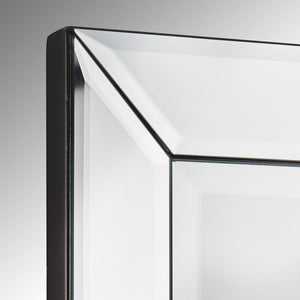 Modern Rectangular Glass Wall Mirror | Fern Interiors UK