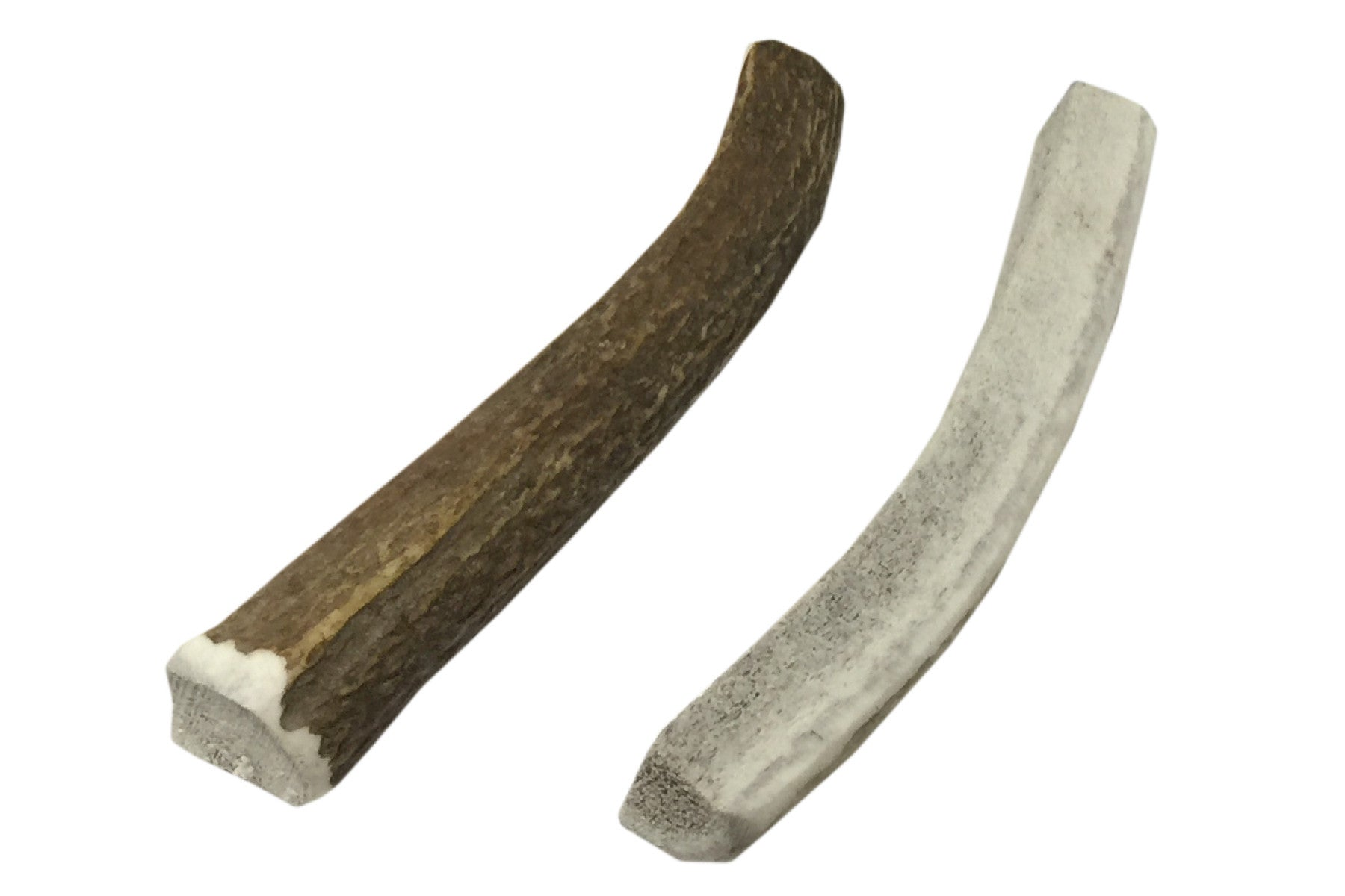 Twin Pack Small Split Elk Antler Chew
