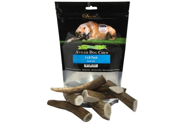 1-LB Small Elk Antler Dog Chews