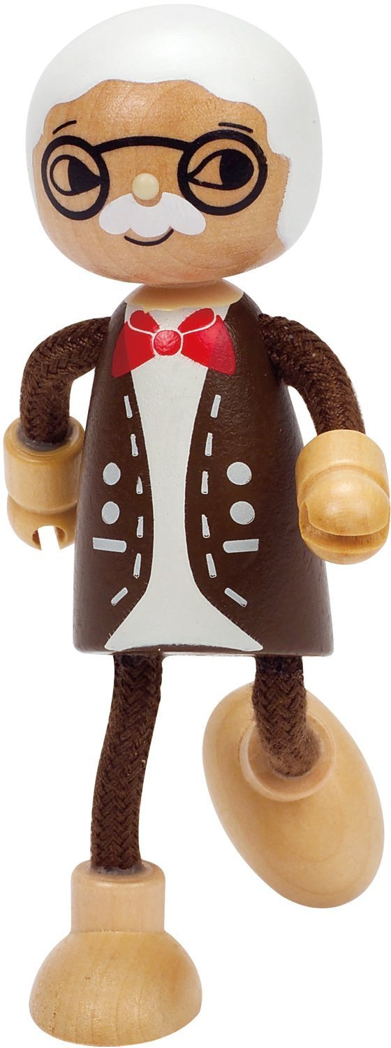 Hape: Grandfather Wooden Doll