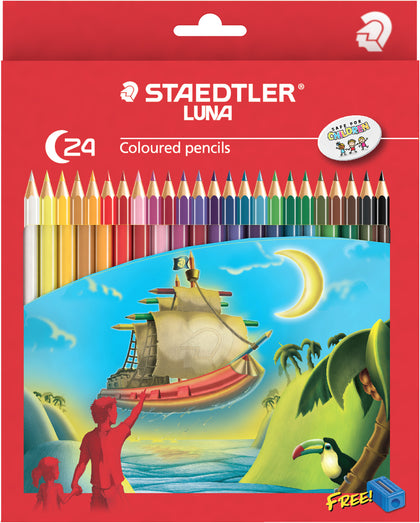 Staedtler Luna Colour Pencils Full (24 Pack)