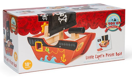 Le Toy Van: Little Capt'n Pirate Boat