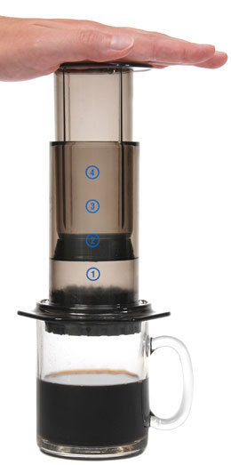 AeroPress Coffee Maker & Tote Bag