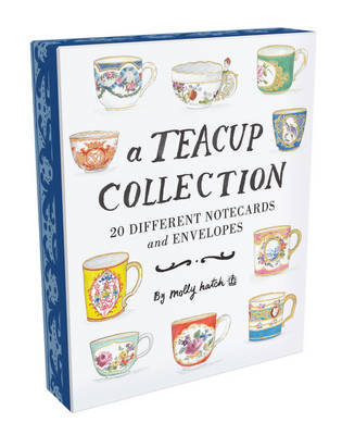 A Teacup Collection Notes (20 Notecards/Envelopes)