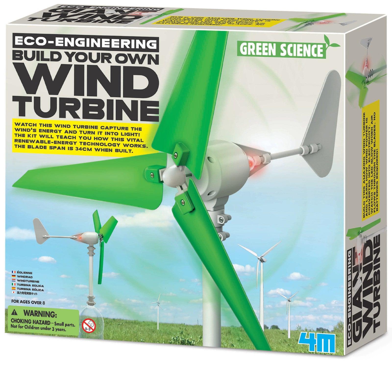 4M: Green Science Build Your Own Wind Turbine