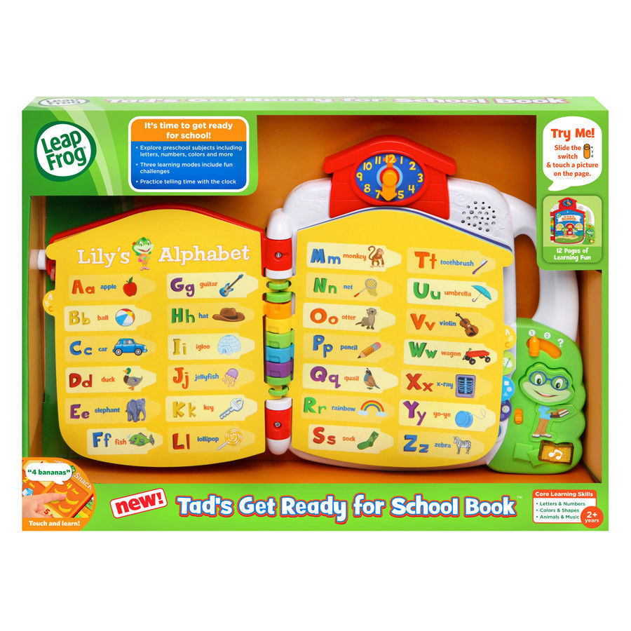 Leapfrog - Tad's Get Ready For Preschool Book