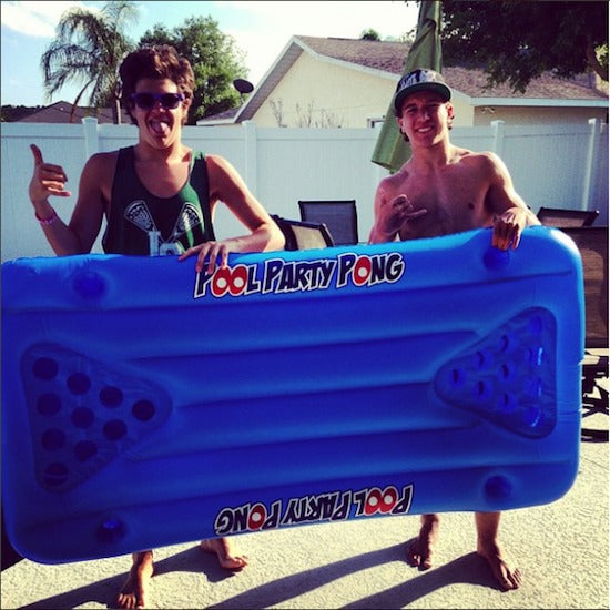 BigMouth Pool Party Pong Float