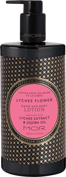 MOR Emporium Classics: Hand & Body Lotion - Lychee Flower (500ml)