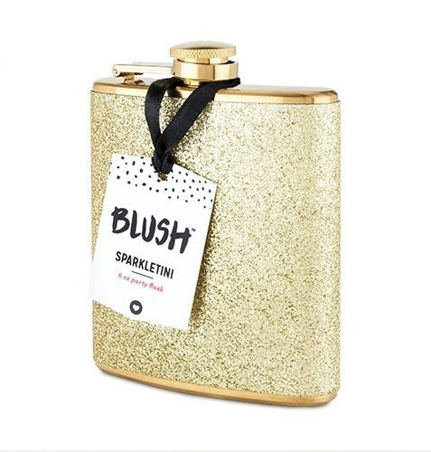 Blush: Sparkletini - Stainless Steel Flask (Gold)