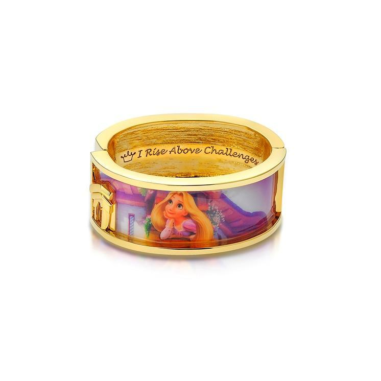 Couture Kingdom: Disney - Princess Rapunzel Dreaming Bangle (Yellow Gold)