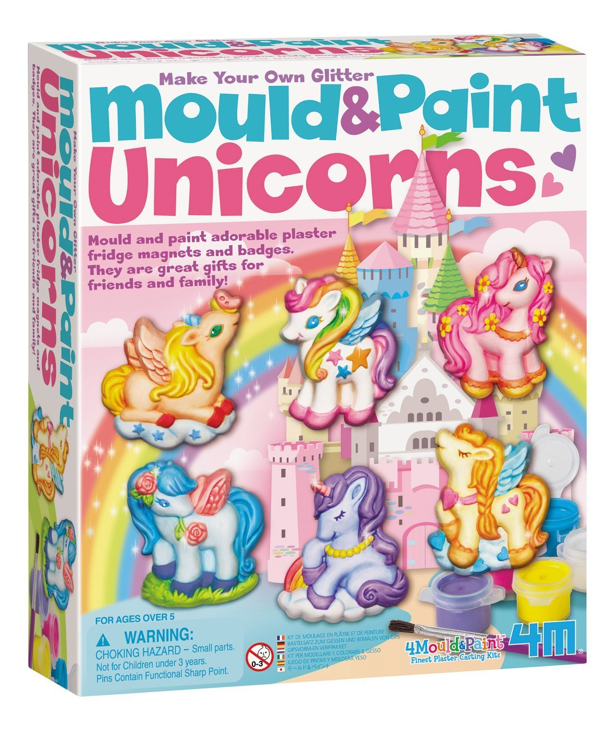 4M: Mould and Paint Unicorns